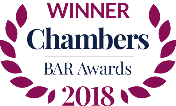 Chambers Bar Awards 2018