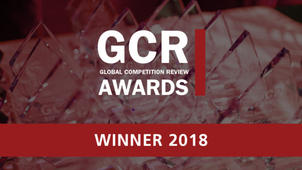 GCR Award winner 2018